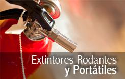 Extintores Rodantes y Portatiles